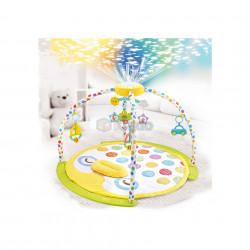 Saltea de joacă cu proiector și carusel Lay & Play 8870