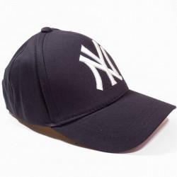 Șapcă neagră logo New York alb