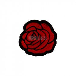 Trandafir brodat 5x5cm