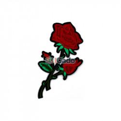 Trandafir Brodat 7x14cm