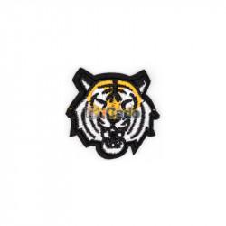 Cap de tigru brodat 5.5x5cm