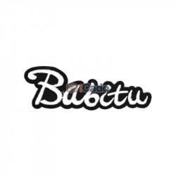 Emblema brodata Babitu 9x3cm