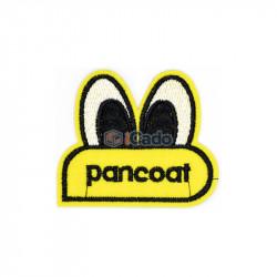 Emblema brodata pancoat 7x6cm