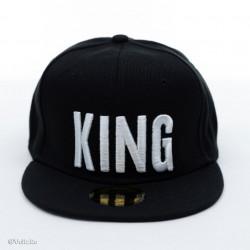 Șapcă logo King neagră poza 2
