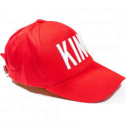 Șapcă roșie logo King alb