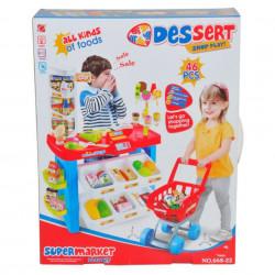 Ambalaj Supermarket de jucărie Dessert Shop Play Magazin de jucărie
