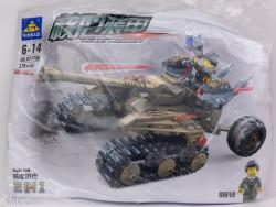 War Robotformat din 279 Piese de la KAZI model KY7706 poza 4