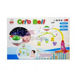 Carusel muzical pentru bebeluși Crib Bell 917 poza 3