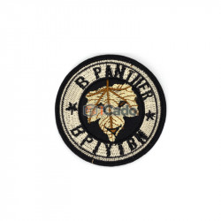 Emblema brodata Panther 7x7cm