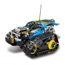 Mașină de Curse cu Șenile din 391 Piese tip Lego