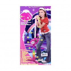 Microfon karaoke model 6363 pentru fetițe de 3 ani+ poza 5
