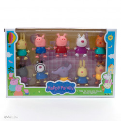 Purcelușii Peppa Pig - Set de 10 figurine poza 2