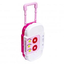 Bucătărie portabilă Troller de jucărie cu sunete și lumini