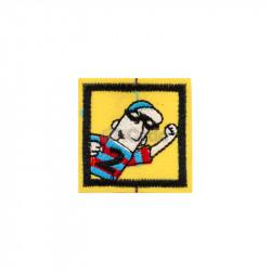 Emblema brodata 4x4cm