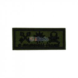 Emblema brodata A nameless brand 9.5x4cm