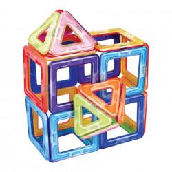 Joc magnetic cu 28 piese, Mag-Building