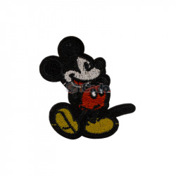 Mickey Mouse brodat 5x5.5cm