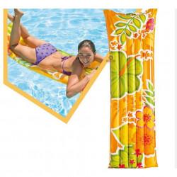 Saltea gonflabilă marca Intex dimensiune 183 x 69 cm Floral Multicolor poza 2