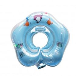 Colac pentru gât pentru bebeluși cu vârsta între 1 lună și 3 ani, model YT-076 albastru