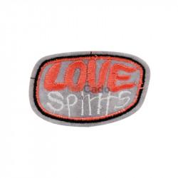 Emblema brodata Love Spirits 6.5x4cm