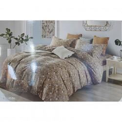 Lenjerie de pat cu 6 piese din bumbac satinat 250 x 230 cm LP6P-24