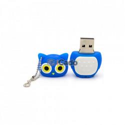 Memorie USB de 16GB în formă de bufnită USB 2.0 albastru poza 3