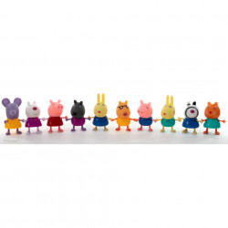 Purcelușii Peppa Pig - Set de 10 figurine