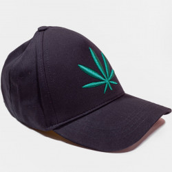 Șapcă neagră logo Marijuana