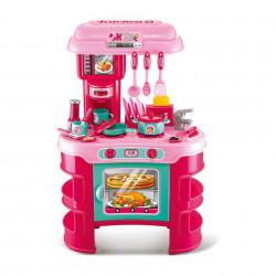 Set bucătărie copii cu 35 accesorii Little Chef