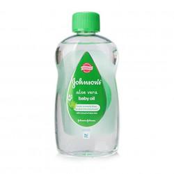 Ulei de corp cu aloe vera pentru bebeluși Johnson's Baby 300 ml