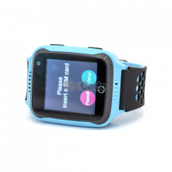 Ceas pentru copii ModelQ528 G900Acu Camera de 0.3MP albastru poza 3