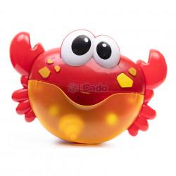 Crabul care face spumă și cântă