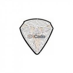 Diamant brodat 7.5x8cm