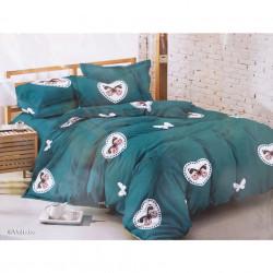 Lenjerie de pat cu 6 piese din bumbac finet 240 x 220 cm LP6PF-35