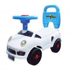 Mașină fără pedale albă Happy Star 2