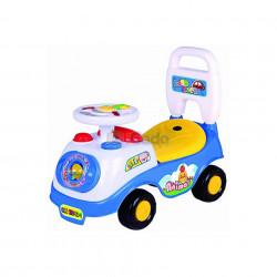 Mașină fără pedale albă Time Scooter