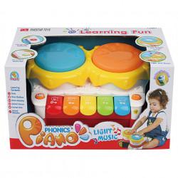 Ambalaj Pian de jucărie cu doua tobe poza 3
