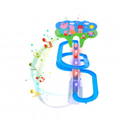 Purcelușii Peppa Pig mereu fericiți - Roller Coaster poza 2