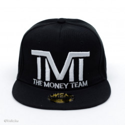 Șapcă logo The Money Team neagră poza 2