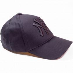 Șapcă neagră logo New York negru