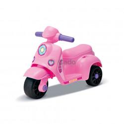 Tricicletă roz fără pedale Dudu Briving