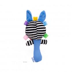 Zebra Chițăilă, Jucărie de mână pentru bebeluși poza 2
