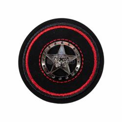 Emblema brodata 5.5x5.5cm stea
