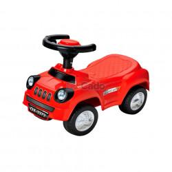 Mașină fără pedale roșie Star of RoadMaster