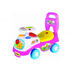 Mașină fără pedale violet Time Scooter