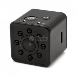 Mini cameră video SQ13 WiFi FULL HD Negru