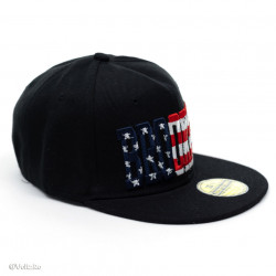 Șapcă logo Brooklyn neagră
