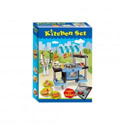 Bucătărie de jucărie cu sunete și lumini, Kitchen Set model 383-008 poza 2