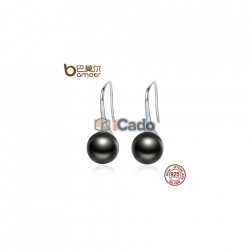 Cercei din argint Elegant Round Imitation Pearl Drop Earrings