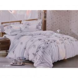 Lenjerie de pat cu 6 piese din bumbac finet 240 x 220 cm LP6PF-37